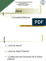 1.1 Salud pública Modelos del proceso de salud-enfermedad