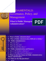 Fundamentals Governance, Policy, Management.ppt