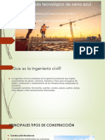 1.1 Tipos de Obras Civiles