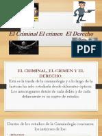El Criminal El crimen  El Derecho.pptx