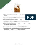 Cempazúchitl and Calabacines - School Garden - Spanish worksheet-with answers