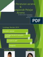 Taklimat Peraturan asrama & Tanggungjawab Pelajar Asrama.pptx