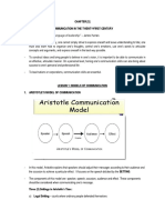 [COMM 1100] Introduction and Models of Communication_1