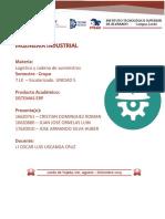 INVESTIGACION LOGISTICA UNIDAD 5 RPM HUBER , JUAN , CRISTIAN.docx