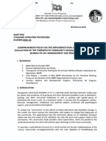 TCMP implementation policy