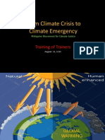 PMCJ_on Climate Emergency_ToT_BSSRC.ppt