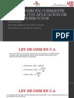 Ley de Ohm en AC finalll.pptx