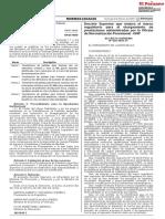 Decreto Supremo Nº 020-2020-EF
