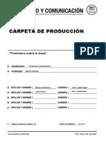 CARPETA DE PRODUCCION