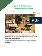 chinese supply transistor