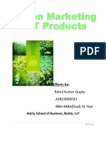Green Marketing of I.T Products