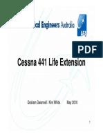 Cessna 441 Life Extension