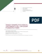 Artículo - Triada terapeutica para el tx del linfedema posmastectomía