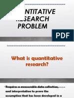 QUANTITATIVE RESEARCH PROBLEM.pptx