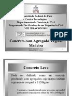 Apresentação Concreto c Agregado Vegetal1