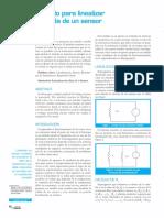 Insrumentación - Método Para Linealizar La Salida de Un Sensor