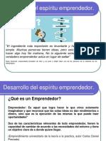 Desarrollo del espíritu emprendedor2019 1 unidad.ppt
