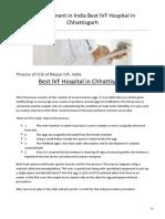 Best IVF Hospital in Chhattisgarh