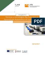 Tecnicas y tecnologias del big data para el ml no supervisado