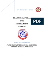 Class 6 English Final for Saksham Plus Practice Material-05112019