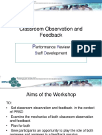 Classroom Observation and Feedback.ppt