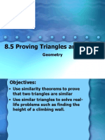 8_5 Proving Triangles are Similar.ppt