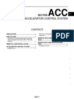 Accelerator Control System – Qashqai J11
