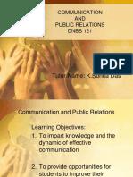 Communication and PR Jan2011Sunita.ppt