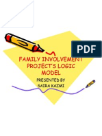 FAMILY INVOLVEMENT PROJECT'S LOGIC MODEL