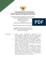 Permen No. 27 Tahun 2019_Pertimbangan Teknis Pertanahan.pdf