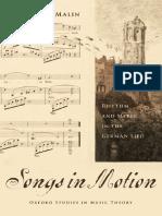 (Oxford Studies in Music Theory) Yonatan Malin - Songs in Motion_ Rhythm an
