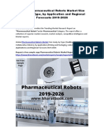 Global Pharmaceutical Robots Market Size study, by Type, by Application and Regional Forecasts 2019-2026