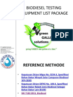 1BIODIESEL TESTING EQUIPMENT LIST PACKAGE