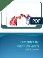 Comparitative Study Between Pepsi & Coke