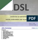 Digital Subscriber Line (xDSL)