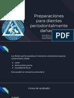 Preparaciones para dientes periodontalmente dañados.pptx