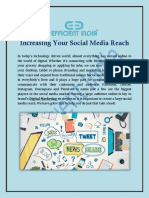 Increasing Your Social Media Reach
