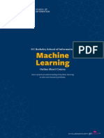 University berkeley-machine-learning-online-short-course-prospectus