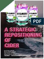Bulmers - Group Marketing Plan