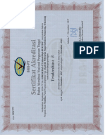 sertifikat akreditasi ban pt nautika 2017
