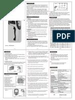 GM700 User Manual