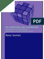 Swirski - Of Literature and Knowledge