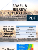 ISRAEL and HEBREW Lit.pptx