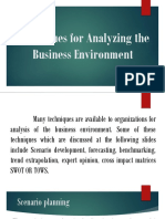 Techniques for Analyzing the Business Environment.pptx