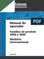 manual transmissão alison