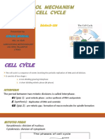 ppt on CONTROL  MECHANISM OF CELL CYCLE.pptx