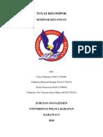rangkuman 4 - market timing and capital structure