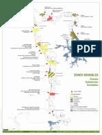 Les zones à risque submersion-érosion dans la Manche - janvier 2020