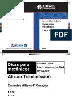 manual transmissão alison t400