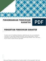 PENGEMBANGAN PENDIDIKAN KARAKTER.pptx